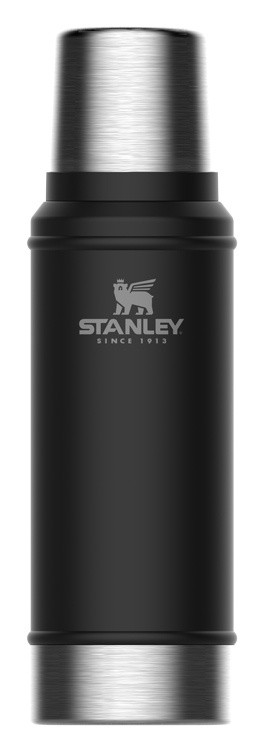 Термос Stanley The Legendary Classic Bottle (10-01612-028) 0.75л. черный фото 1 — frontime