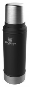 Термос Stanley The Legendary Classic Bottle (10-01612-028) 0.75л. черный фото 2 — frontime