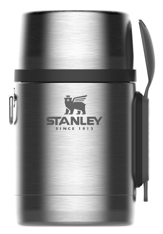 Термос Stanley Adventure Vacuum Food Jar 0.53л. серебристый (10-01287-032) фото 1 — FRONTIME.RU