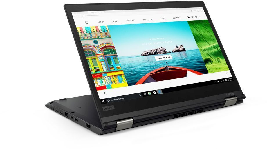 "Трансформер Lenovo ThinkPad X380 Yoga Core i7 8550U/8Gb/SSD512Gb/Intel UHD Graphics 620/13.3""/IPS/Touch/FHD (1920x1080)/4G/Windows 10 Professional 64/black/WiFi/BT/Cam фото 1 — FRONTIME.RU"