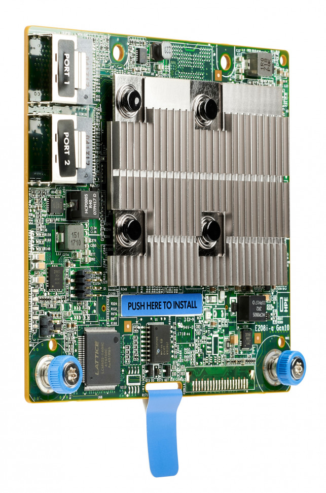 Контроллер HPE Smart Array E208i-a SR Gen10 (804326-B21) фото 1 — FRONTIME.RU